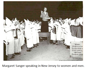 Margaret Sanger - KKK