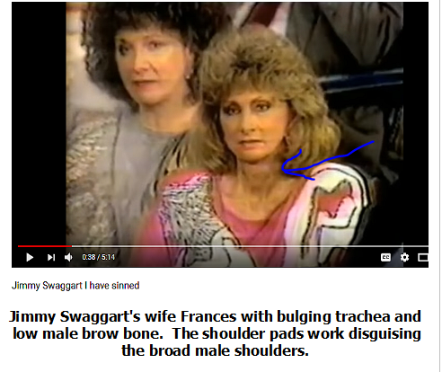 swaggart wife shoulder pads 2 - The Blood of King Yeshua